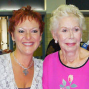 Louise Hay and Sandra Filer