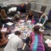 Crafting their New Life Story.