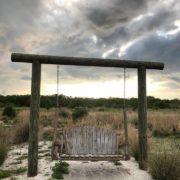 The meditation swing at Perico Preserve.